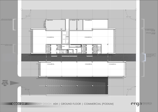 mubarak A04- Ground Floor Plan