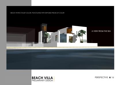 sultan villa A16- Perspective